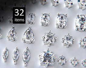 3D print model Jewelry Heads Pack