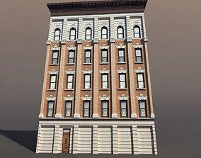 Apartment House windows 3D asset