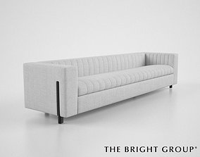 The Bright Group Gray Sofa 3D