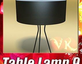 Modern Table Lamp 09 Tesla Estiluz 3D