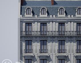 3D asset Modular Paris Haussmann