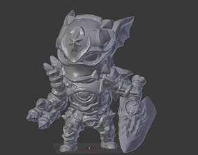 3D printable model Chaos Knight