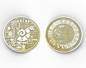 Bitcoin Maya 3D printable model