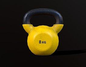 3D model Kettlebell 8 kg