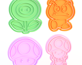 3D printable model Animals cookie cutter set of 40