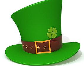 St Patricks Day Hat people 3D model