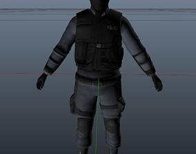 Swat Model 3D asset