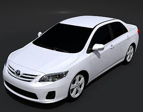 3D Toyota Corolla Sedan