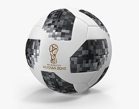 3D model Soccer Ball FIFA World Cup Russia 2018