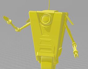Borderlands ClapTrap with base 3D printable model