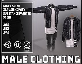 Male Clothing 3D model