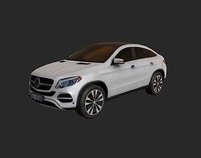 3D asset Low Poly Car 10