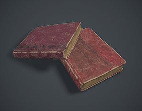 3D model Old book
