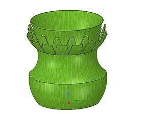 vase cup vessel v11 for 3d-print or cnc