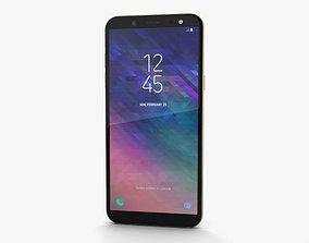 Samsung Galaxy A6 Gold 3D