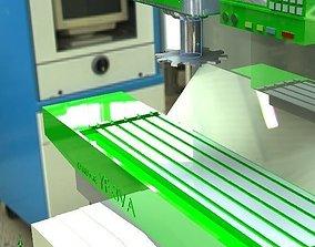 CNC Milling Machine 3D model