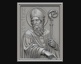 Saint Patrick Medallion 3D print model
