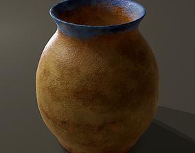 Ancient Terracotta Jar 3D asset