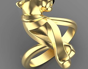ring female earrings 3D printable model