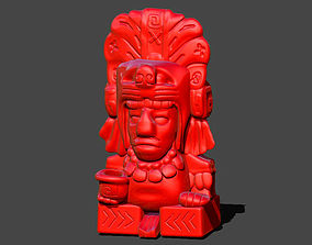 Aztec Pen Holder 3D printable model