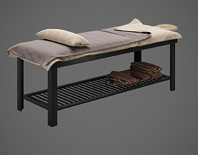 3D model stationary massage table | CGTrader