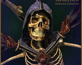 Army of Skeletons Light Version 3D asset