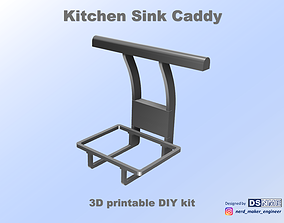 3D printable model Kitchen Sink Caddy - Sink Organizer - 3