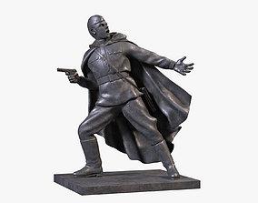 soldier 3D Commander Sculpture
