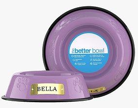 Large Bowl Sweet Lilac 3D