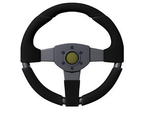 3D asset Steering Wheel