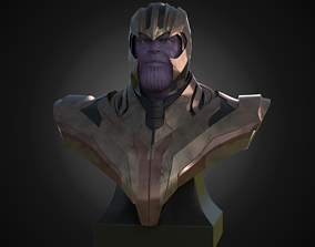 Bust of Thanos 3D print model
