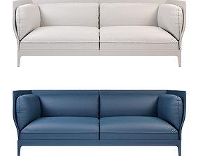 3D Monica Forster Poltrona Frau Alone Sofa Leather