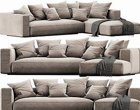 3D Flexform Grandemare Chaise Lounge