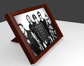 3D asset photo frame custom