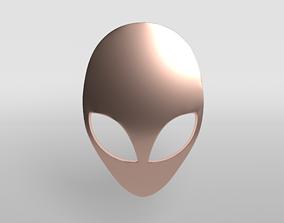 3D model low-poly Alienware Logo 007