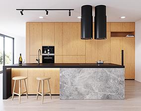 Modern kitchen 3 3D