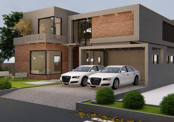 4500 sq ft house design and rendering in lumion 8.5 pro