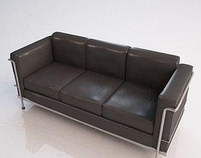 3D Le Corbusier Sofa