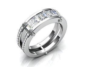 3D printable model Diamond Ring BK374