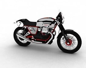Moto Guzzi V7 Clubman Racer 2010 3D model