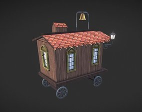 Caravan 3D model vehicle