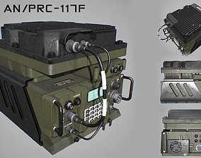 3D Army Radio Transceiver