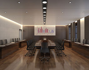 Conference Room space 3D model