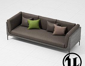 3D model Dedon Mu Sofa 002 UE4