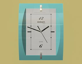 wallclock Wall clock 3D model