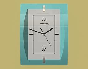 Wall clock office 3D