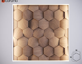 3D Wall Panel 01 game-ready