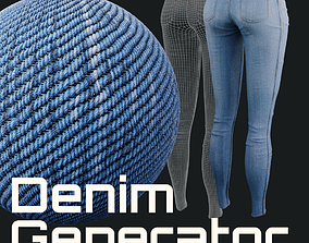 Denim Generator - Procedural Shader 3D model