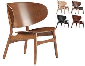 3D model Hans Wegner FH 1936 Vintage Easy Chair