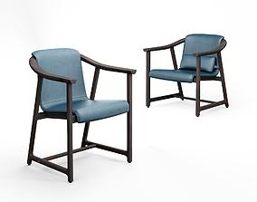 Stellar Works Mandarin dining chair and lounge 3D model